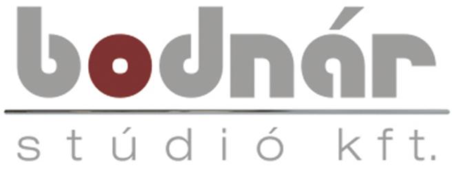 Bodnár Stúdió Kft. logója